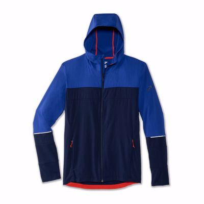 Brooks Men's Canopy jacket cobalt/navy