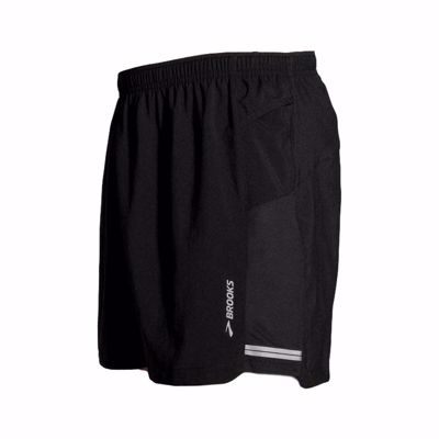 "Brooks Men's Sherpa 2-in-1 5"" short [black]"