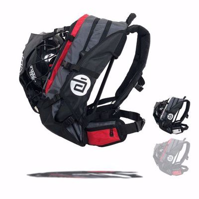 Cádomotus Airflow XL bag grey-red 40L