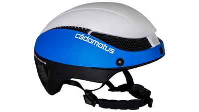 Cádomotus Omega aero helm world team 2020 Blue, Black & white