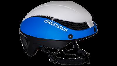 Cádomotus Omega aero helm world team 2020 Blue, Black & white