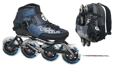 Cádomotus Rookie Two Inline Skate + now with free Backpack