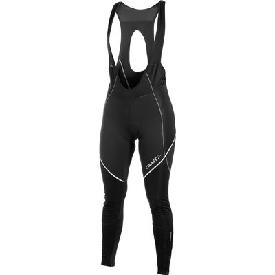 Craft performance bike storm bib long tight met zeem. met geel.  1902324-9800