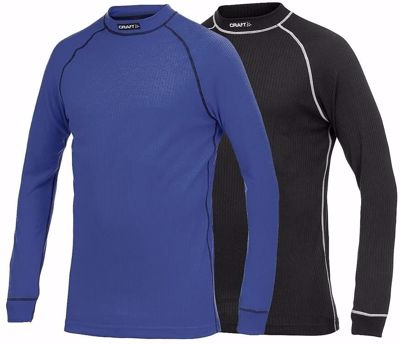 Craft Active longsleeve crewneck 2-pack black+dark blue