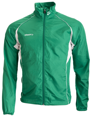 Craft T&F Wind Jacket Men Grun