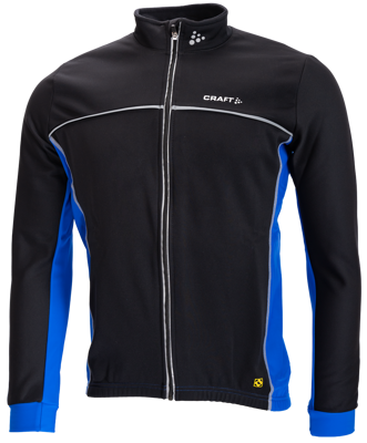 Craft Thermo Jack windstopper black/ COBALT