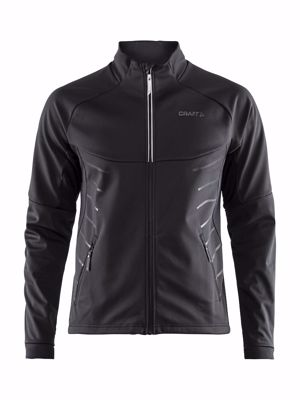 Craft Warm train jacket Black