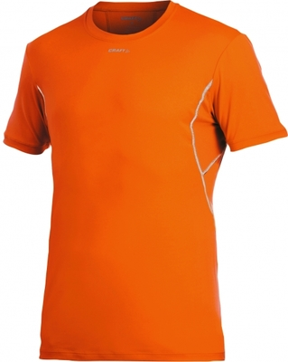 Craft Pro Cool Tee Mesh oranje