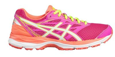 Asics Cumulus 18 GS pink glow/white/flash coral [kids]