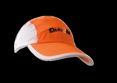 Dare2Tri Venti runningcap fluo orange/white
