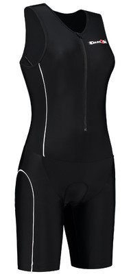 Dare2Tri Womens tri-suit black