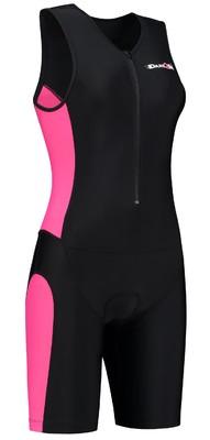 Dare2Tri Womens tri-suit black/pink