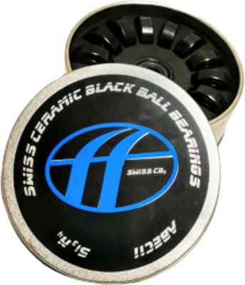 DoubleFF Swiss ceramic black ball bearings