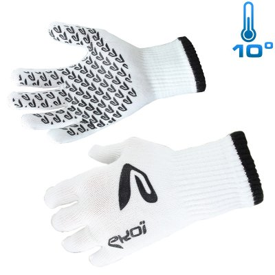 Ekoi Mid season gloves White