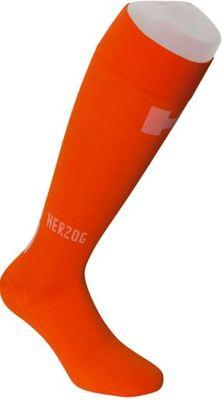 Herzog Compressiekous Met Voet Orange