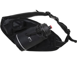 Avento Hip Bag With Water Bottle