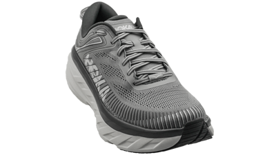 Hoka One One Bondi 7 Wild Dove / Dark Shadow - (WIDE 2E)