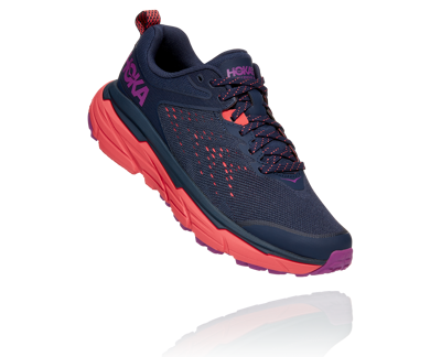 Hoka One One Challenger ATR 6 BLACK IRIS / HOT CORAL