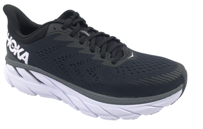 Hoka One One Clifton 7 Black/White