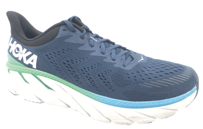 Hoka One One Clifton 7 moonlit ocean / anthracite [2E-WIDE]