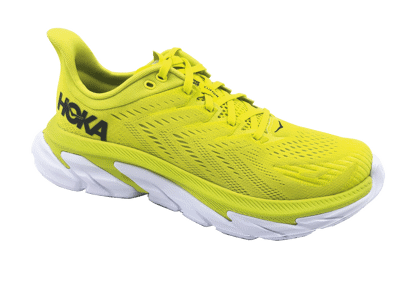 Hoka One One Clifton EDGE Citrus / White