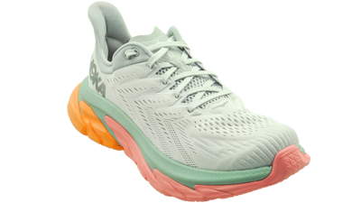 Hoka One One Clifton Edge nimbus cloud/lunar rock