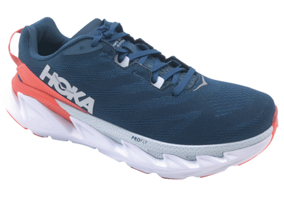 Hoka One One Elevon 2 Moroccan Blue / Hot Coral