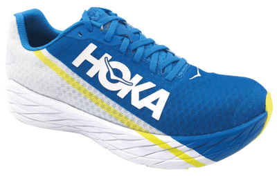 Hoka One One M Rocket X White / Diva Blue [unisex]