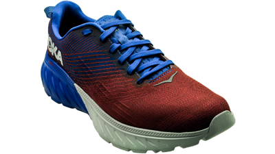 Hoka One One Mach 3 Imperial Blue / Mandarin Red