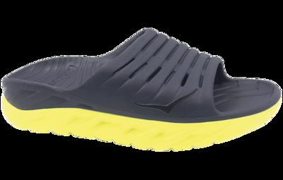 Hoka One One Men's Ora recovery slide - herstel slippers - Odyssey Grey/Evening Primrose