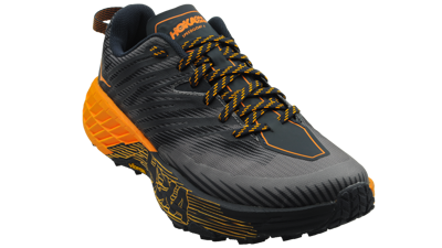 Hoka One One Speedgoat 4 Black Iris / Bright Marigold