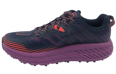 Hoka One One Speedgoat 4 Outer Space / Hot Coral