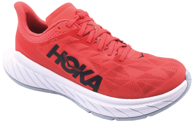 Hoka One One Women's CARBON X 2 - Hot Coral / Black Iris