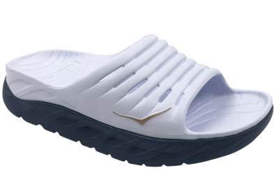 Hoka One One Women's Ora recovery slide - herstel slippers - White