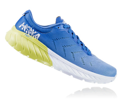 Hoka One One Mach 2  Palace Blue / Lime Sherbet