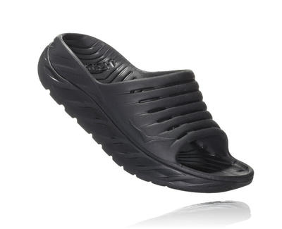 Hoka One One Women Ora recovery slide - herstel slippers - black