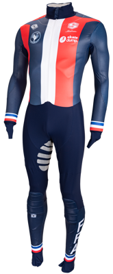 Bioracer cutfree FRance Shorttrack skatesuit