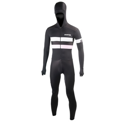 Hunter Speedsuit RTR lycra met cap Retro roze