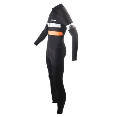 Hunter  skatesuit Marathon RTR speed  Black Oranje
