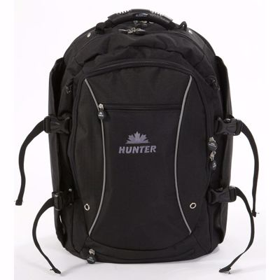 Hunter backpack with laptop case