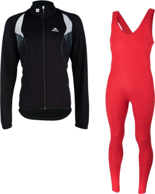 Hunter Elite thermojacket + thermo collant red