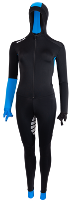 Hunter speedsuit lycra Blue-base