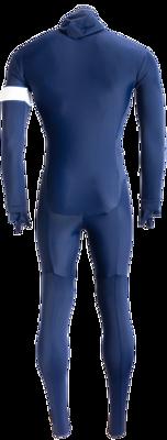Hunter Speedsuit RTR lycra met cap licht blauw Retro