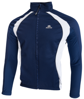 Hunter Veste Thermique Marine grey white