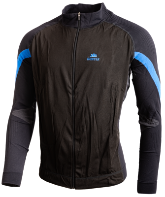 Hunter Versatile jacket Black Cyan