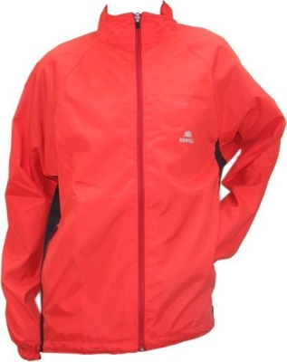 Hunter Micro Veste coupe-vent rouge