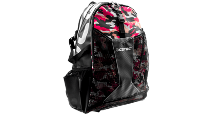 Icetec camo pink backpack waterproof