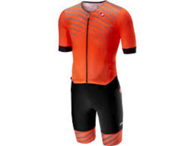 Free Sanremo Tri Suit SS Orange/ Black Men
