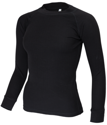 Avento Thermoshirt Lady Black (long sleeve) 721