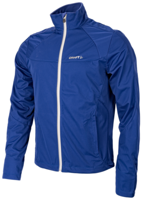 Craft Softshell Jack  blau